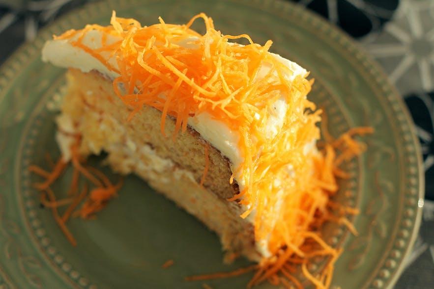 La Preciosa's famous Carrot Cake