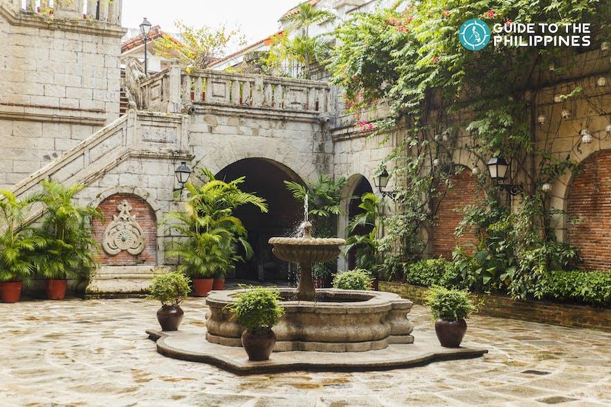 Fountain at Casa Manila Central