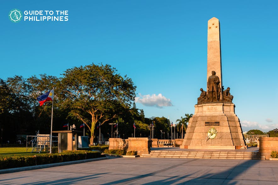 Rizal Park in Intramuros, Manila is a homage to the Philippine national hero, Jose Rizal