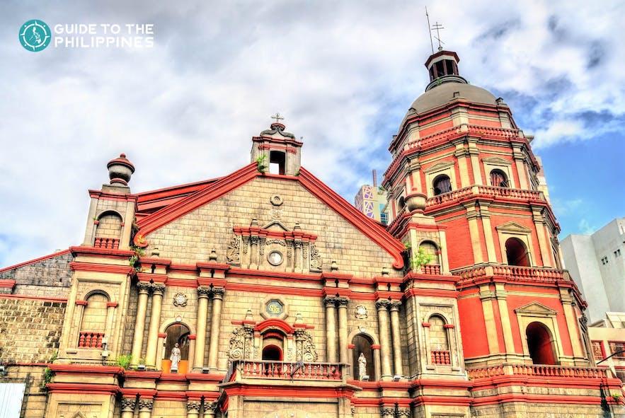 Binondo Church is an iconic location in Chinatown, Manila