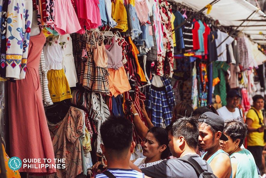 Divisoria houses low price stores in Tondo, Manila
