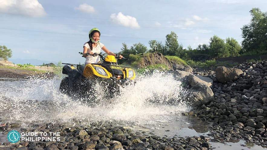 ATV trail ride to Mt. Mayon in Legazpi, The City of Fun and Adventure