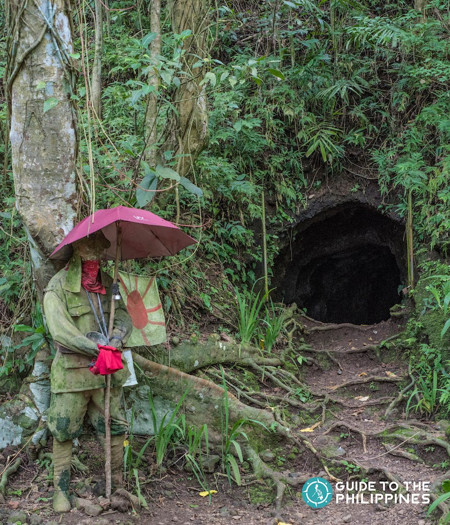 This 40-meter long and L-shaped Japanese Tunnel dates back to World War II in 1941