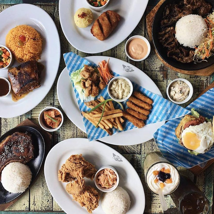 Bigg's Diner in Legazpi City offers comfort food with a local twist
