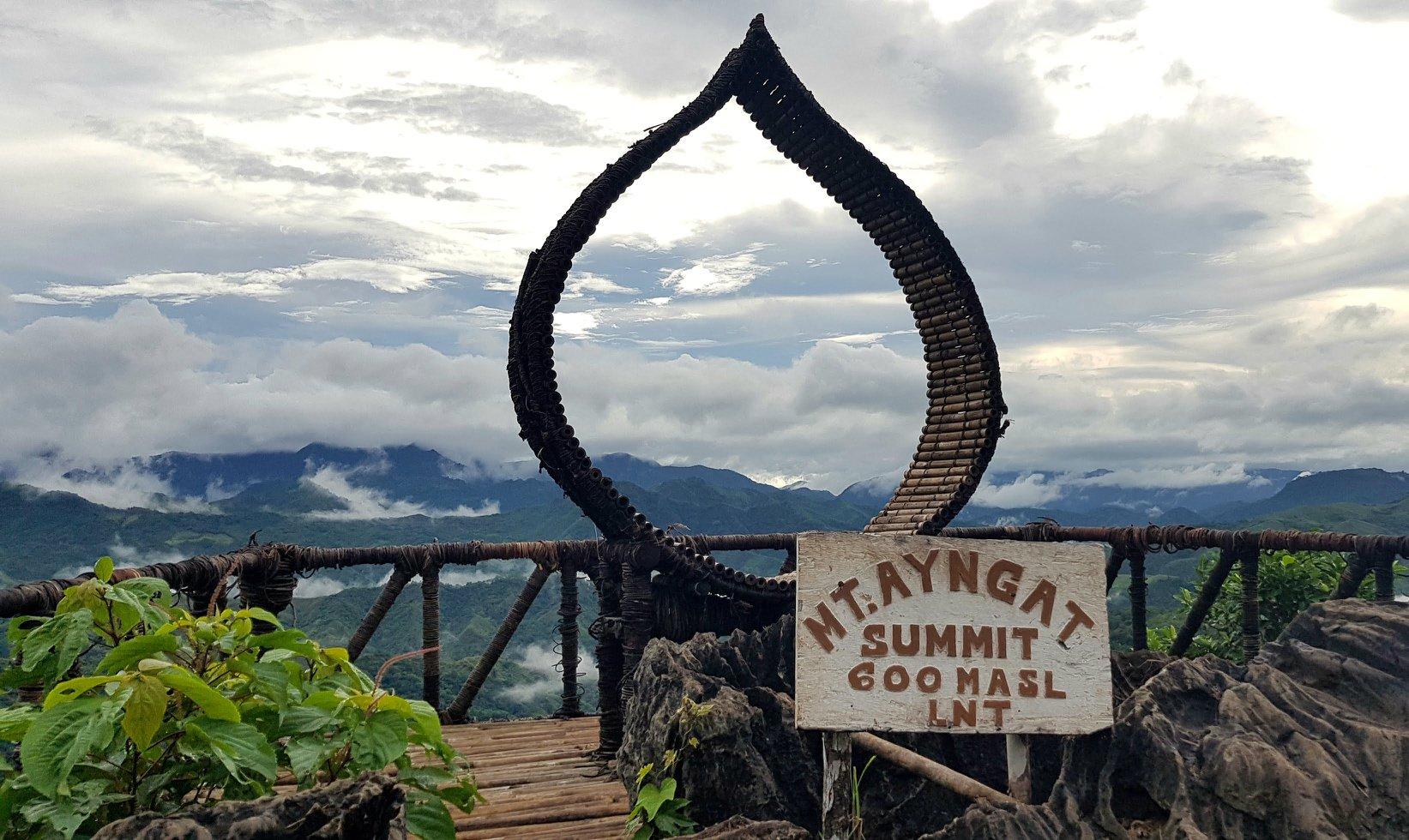 Mt. Ayngat in Rizal