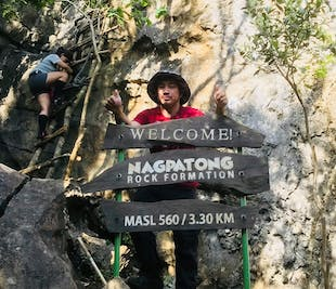 Nagpatong Rock Formation & Tungtung Waterfalls Tanay Rizal Private Day Hike Tour from Manila