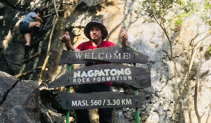 Nagpatong Rock Formation in Tanay