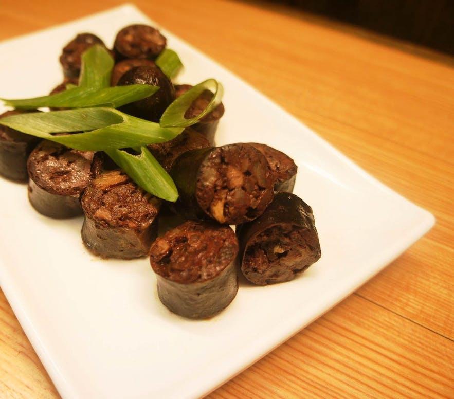 Pinuneg, sauteed Ibaloi sausages, is a traditional Cordilleran dish