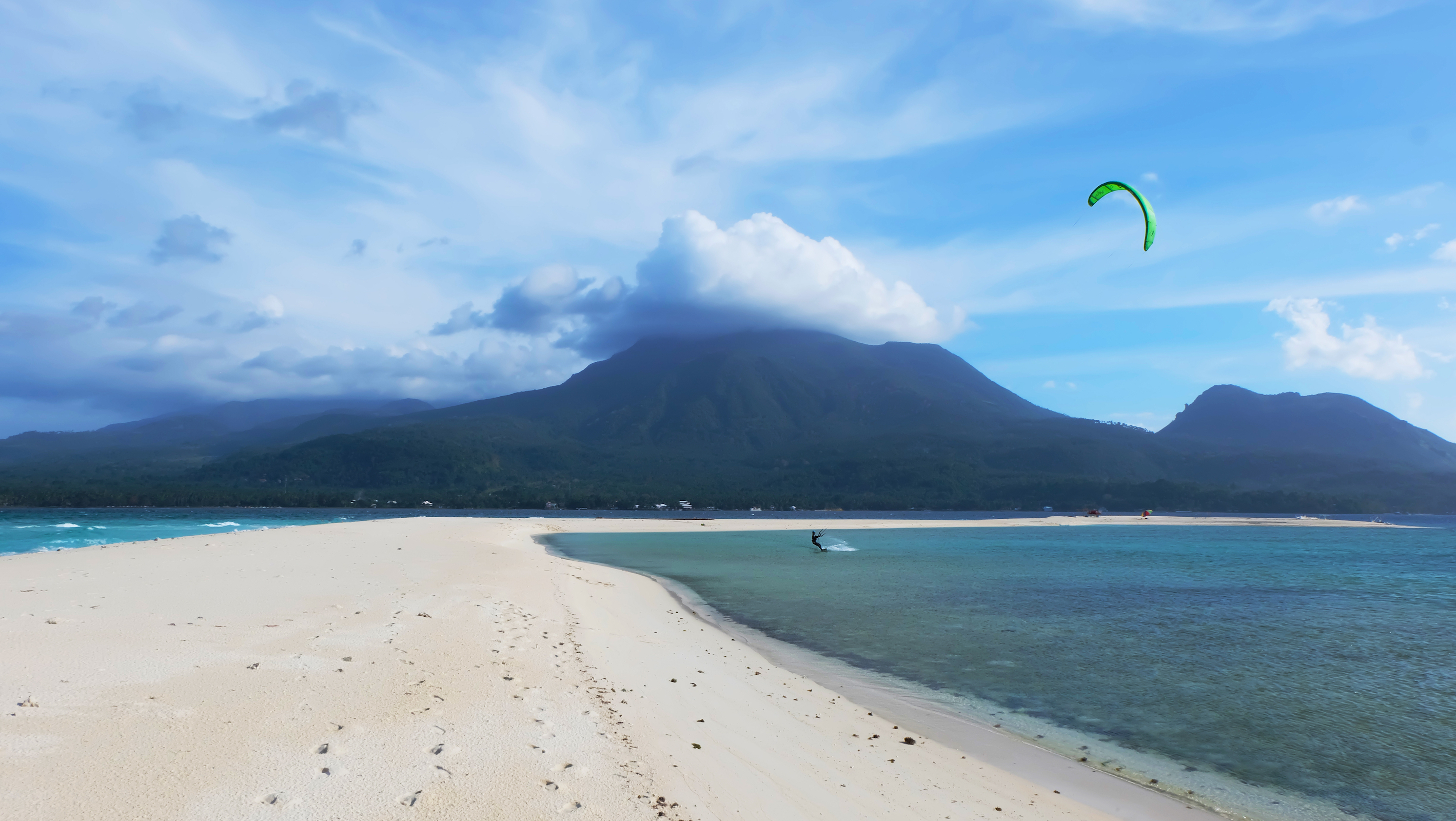 Mambajao White Island in Camiguin