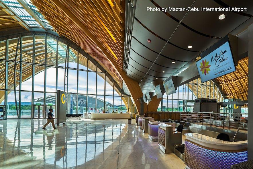 Mactan-Cebu International Airport check-in counter