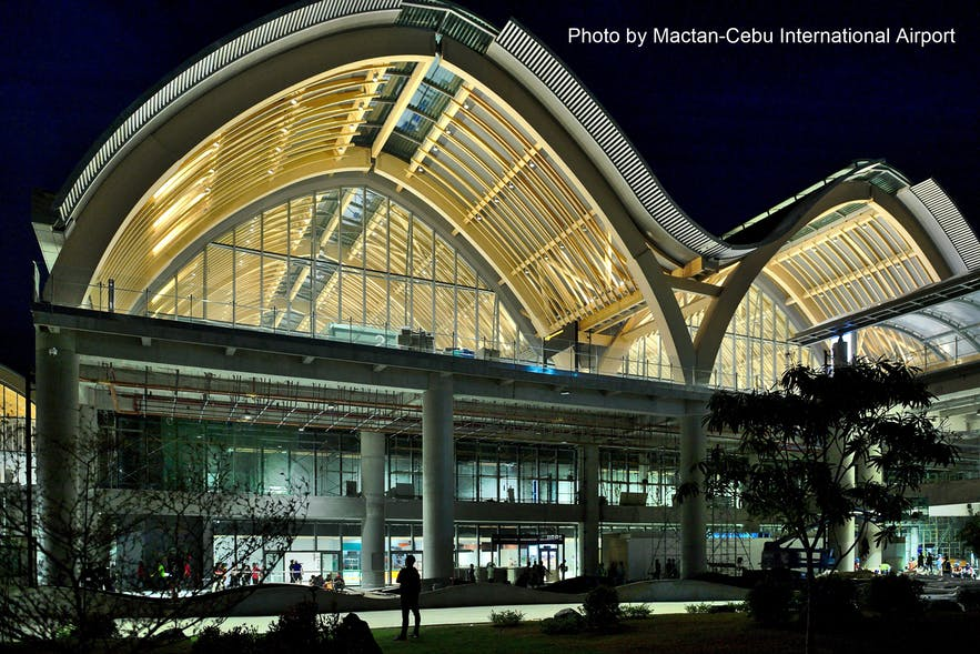 Facede of Mactan-Cebu Internationational Airport