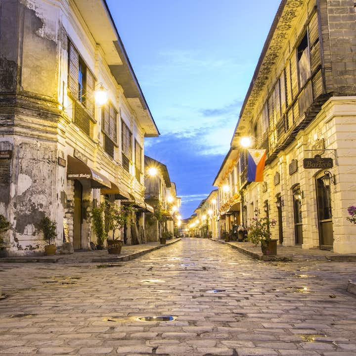 Calle Crisologo in Ilocos Norte