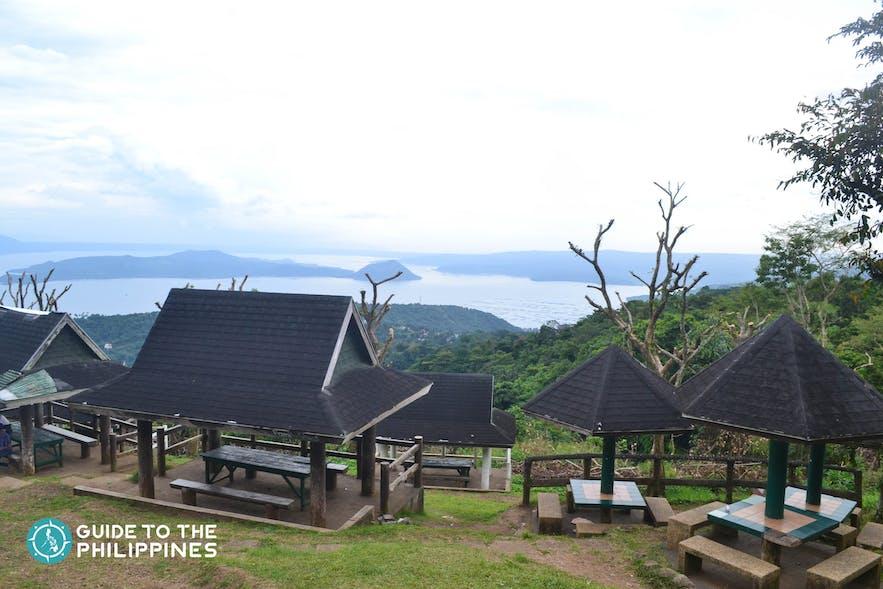 Picnic view at the Tagaytay Picnic Grove