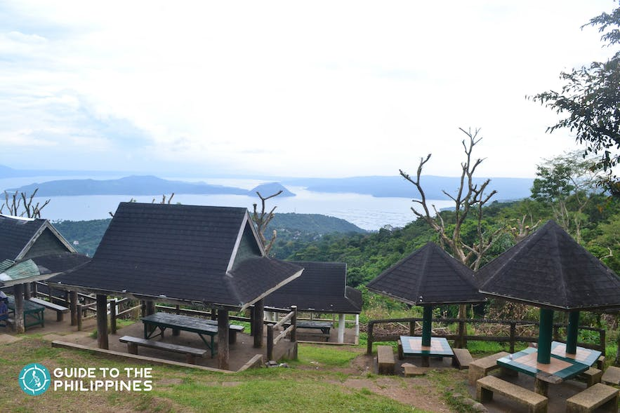 Picnic view at the Tagaytay Picnic Grove