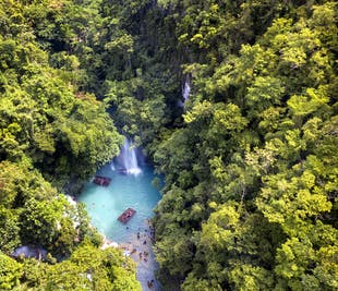 Kawasan Falls Cebu Private Tour I with Guide, Lunch, & Transfer
