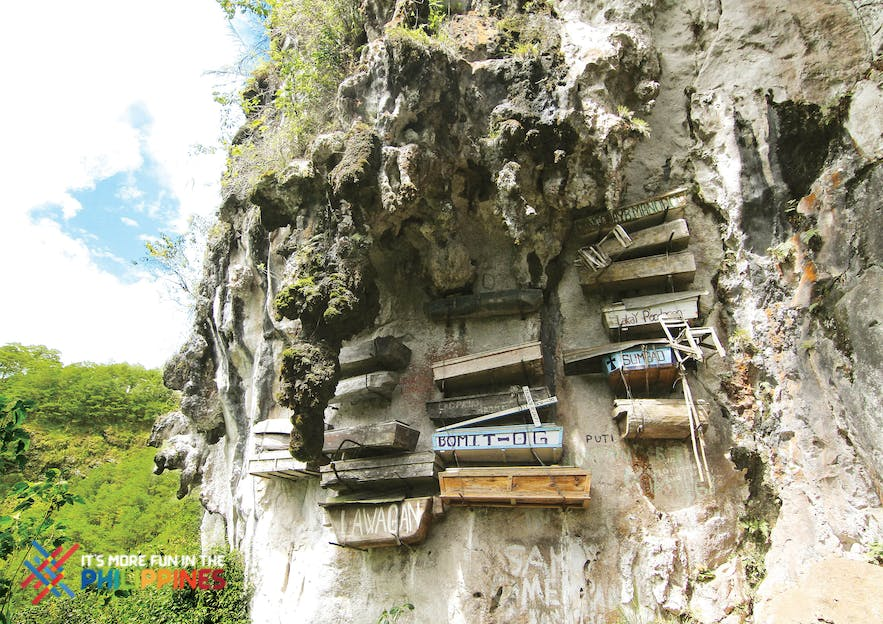 Hanging Coffins is a traditional burial in Sagada practiced to date