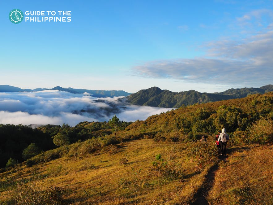 Top view of Mt. Kiltepan in Sagada, Mountain Province