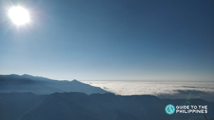 Catch the sunrise over a sea of clouds at Marlboro Hills in Sagada, Mountain Province