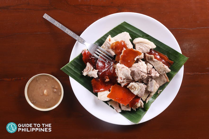 Lechon or roasted pig is a culinary pride of Cebu