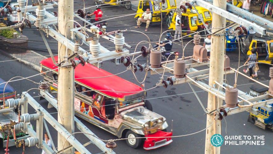 Jeepneys in Mactan, Cebu