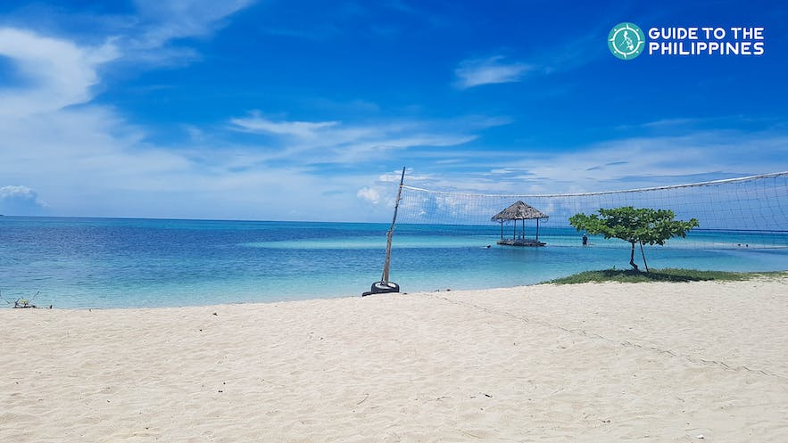 Bask under the sun at this beach in Cebu, Philippines