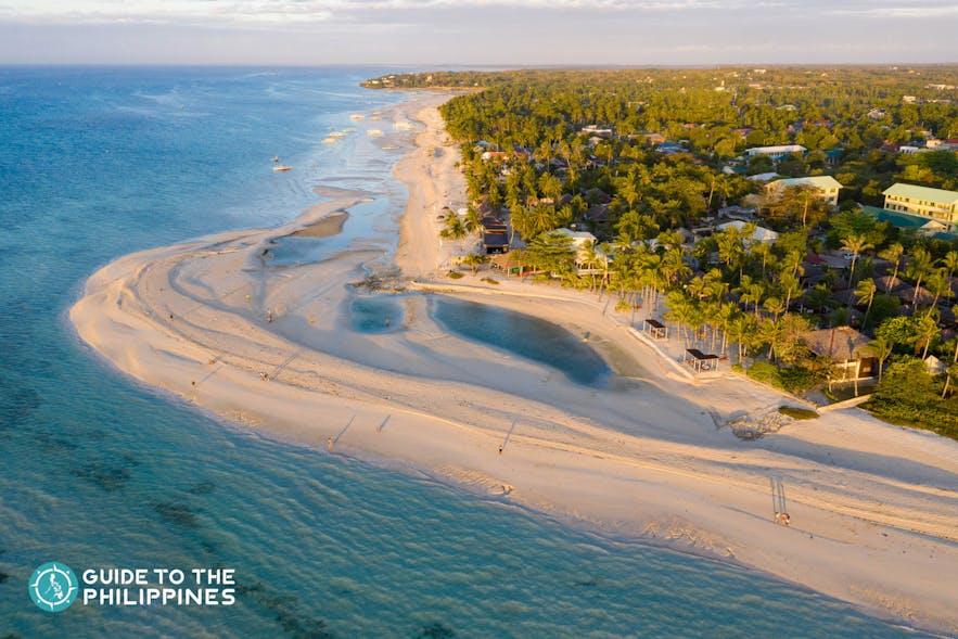 Kota Beach at Bantayan Island in Cebu, Philippines