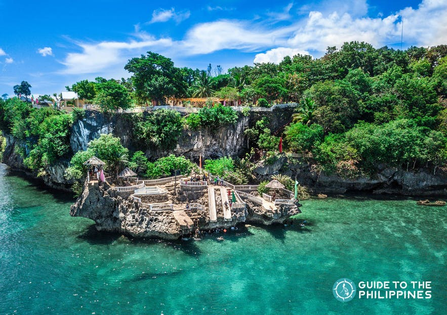 Camotes Island in Northern Cebu, Philippines