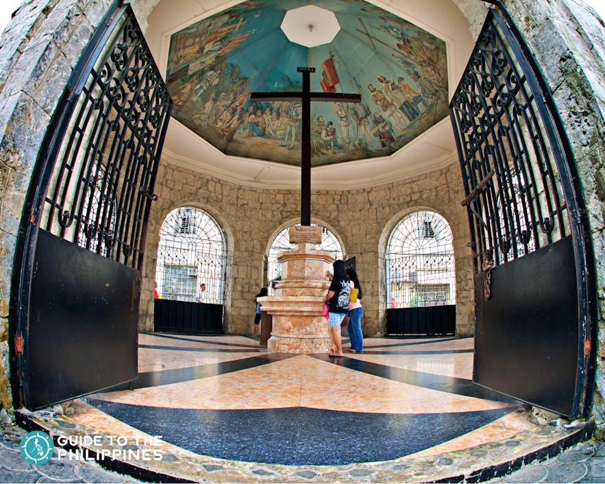 Magellan's Cross in Cebu, Philippines