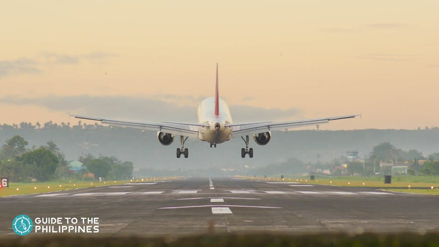 If you want to head directly to Moalboal upon arrival in Cebu, it's best to take an early morning flight