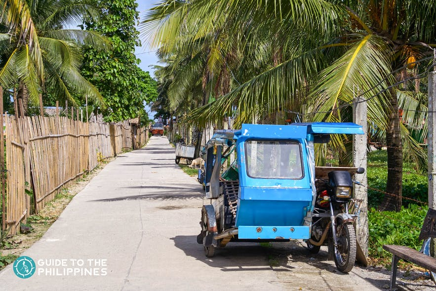 Tricycle in the Philippines