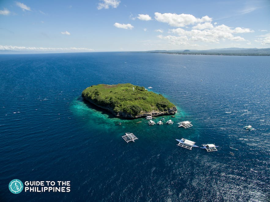 Pescador Island is a popular and well-visited site for divers from all over the world