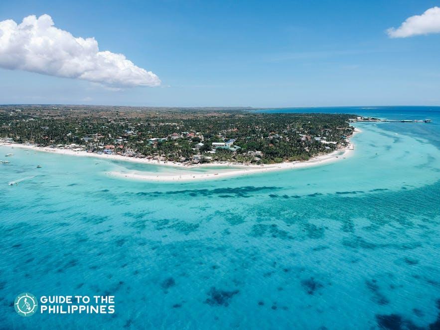 Get a tan at Sta. Fe Beach in Bantayan Island of Cebu