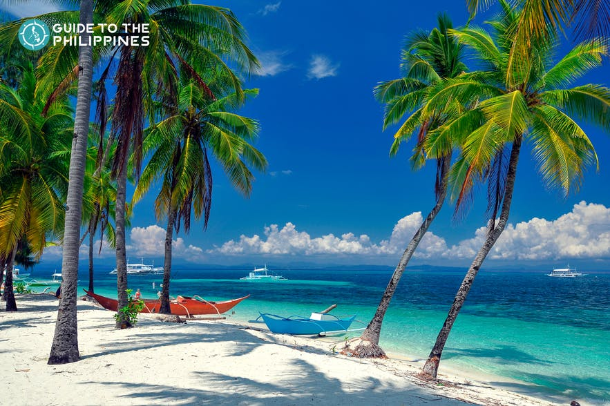White beach in Malapascua Island