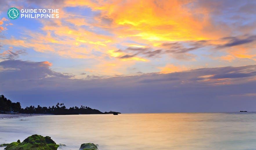 Peaceful view of Malapascua shore