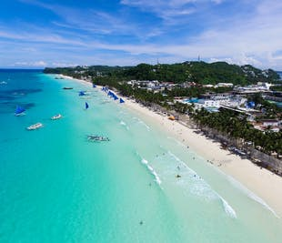 Boracay Island-Hopping Tour I With Buffet Lunch & Transfer