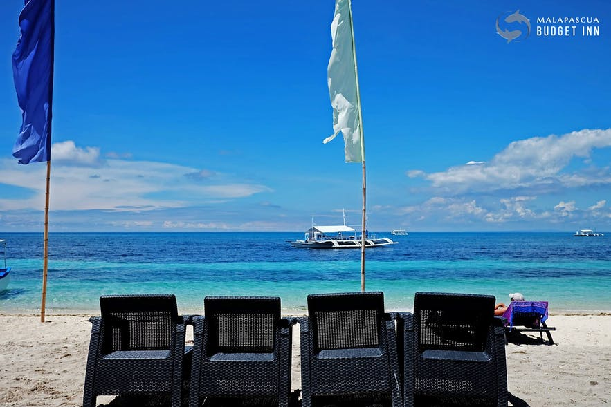 Malapascua Budget Inn shore view