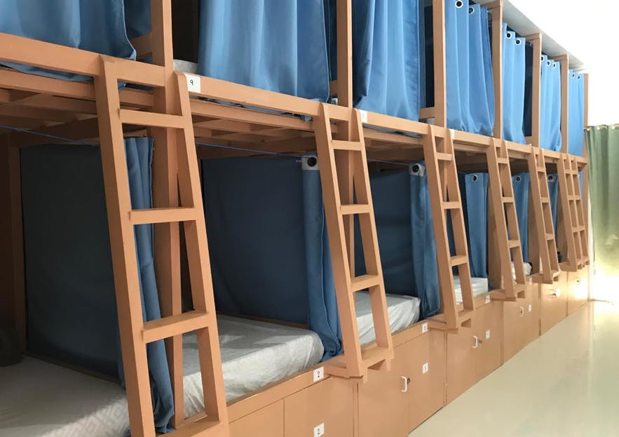 Malapascua Budget Inn dorm type rooms