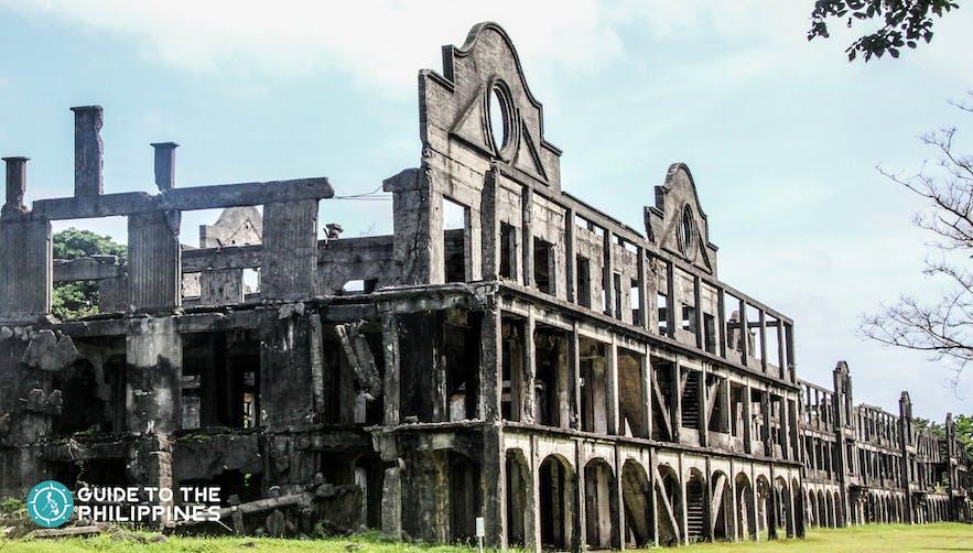 The Ruins of World War II in Corregidor near Bataan