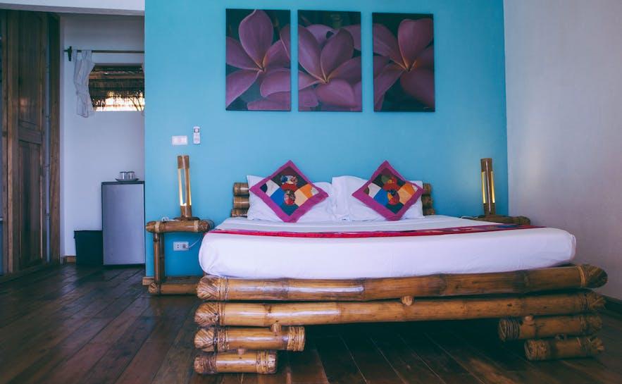 Tepanee Beach Resort's deluxe room