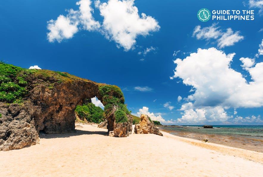 Nakabuang Arc in Morong Beach, Batanes