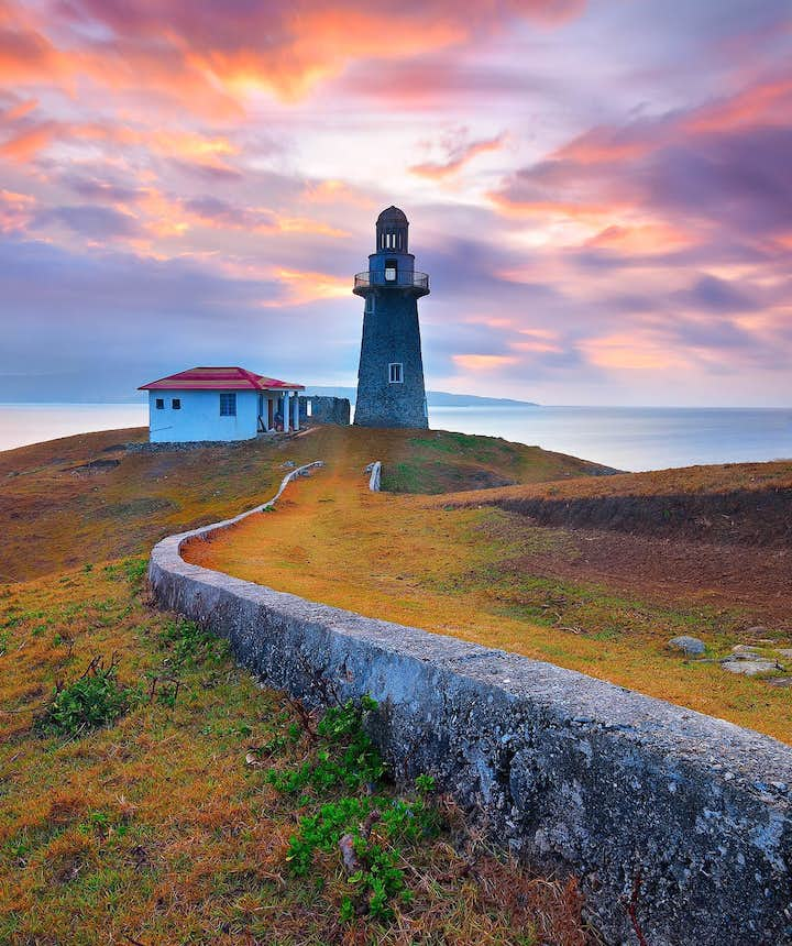 Sabtang Lighthouse in Batanes, Philippines