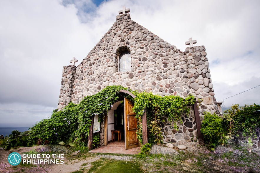Tukon Chapel, also known as Mt. Carmel Chapel in Batanes, Philippines