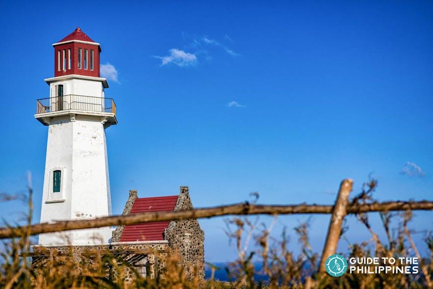 Tayid Lighthouse in Mahatao Island of Batanes, Philippines