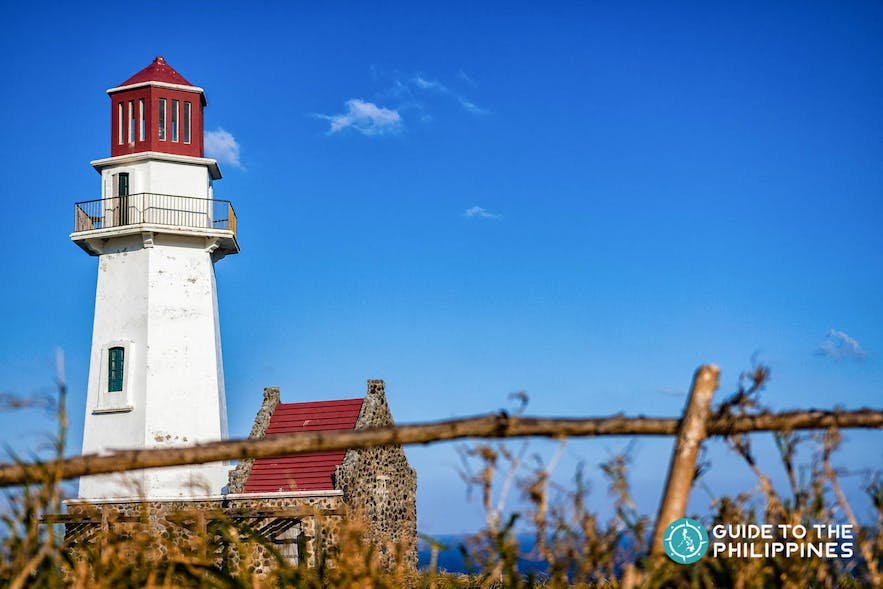 Tayid Lighthouse in Mahatao Island of Batanes, Philippines