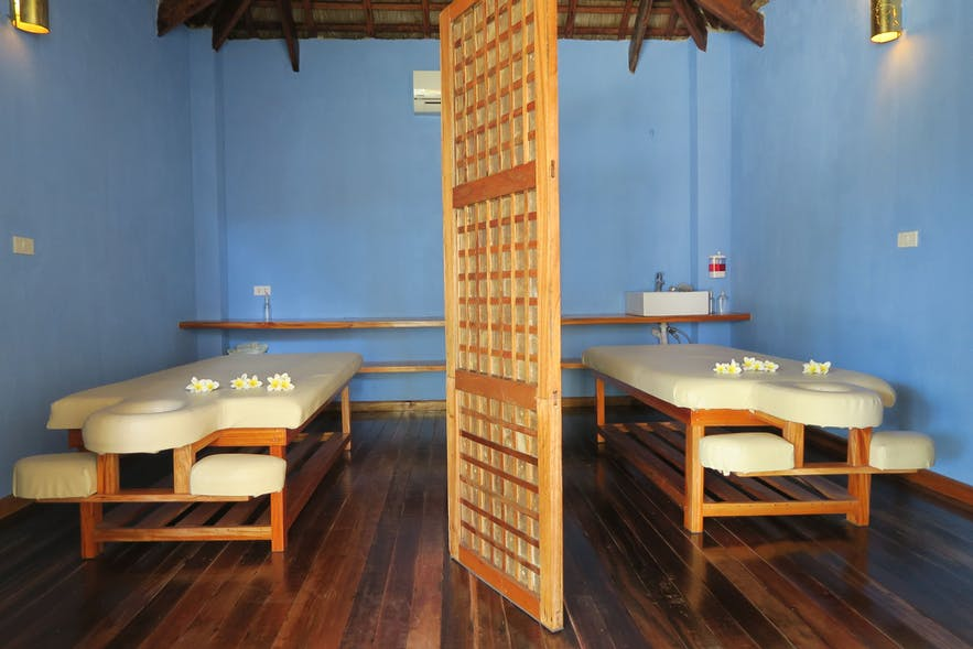 Tepanee Beach Resort in-house spa