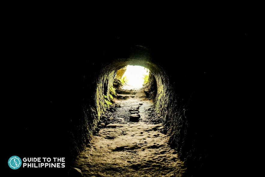 Batanes' Dipnaysupuan Japanese Tunnel served as a shelter for the Japanese forces during World War II