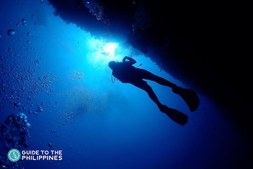 Dive spot in Malapascua Island