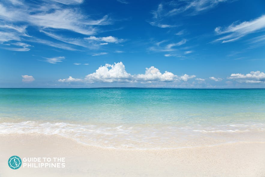 White-sand beaches of Bantayan Island, Cebu
