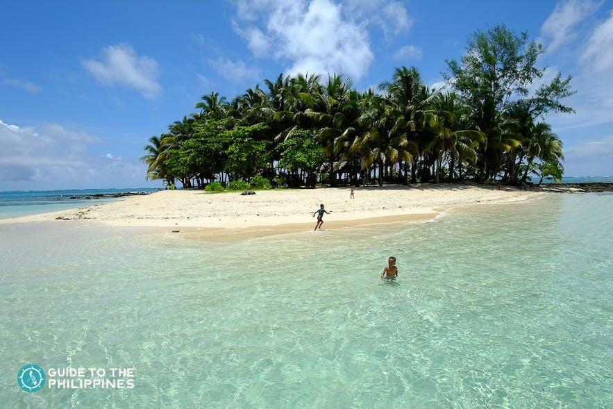 Guyam Island in Siargao Island, Surigao del Norte