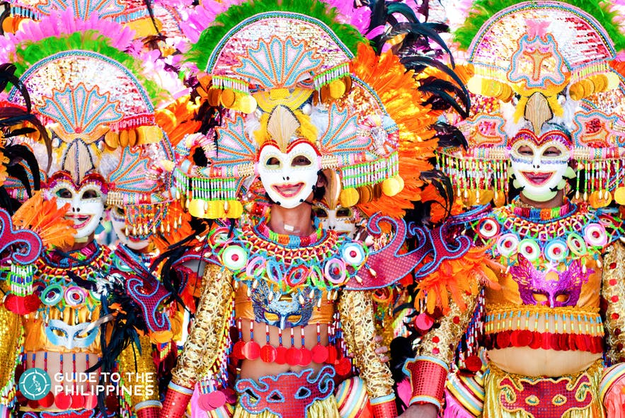 MassKara Festival in Bacolod, Philippines